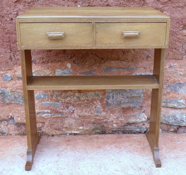 Art Deco Style Vintage Side Table + Free Delivery