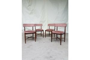 Thumb vtg mid century g plan set 4 teak dining chairs danish scandinavian design retro g plan denmark 0