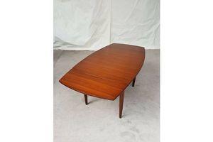Thumb vtg mid century elliots of newbury eon extending 4 6 seat dining table retro 0