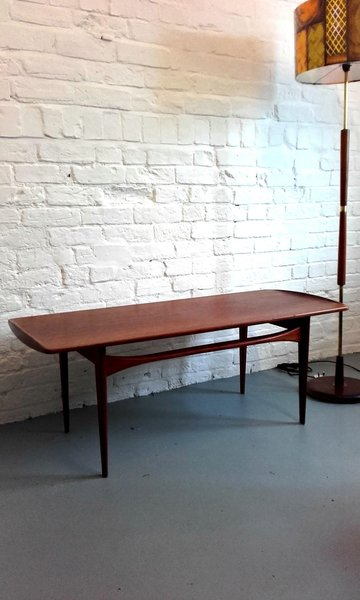 Fd 503 Coffee Table In Teak By Tove & Edvard Kindt Larsen For France & Son