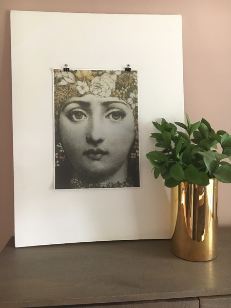photograph regarding Printable Canvas Paper called Fornasetti Design and style Cotton Paper Canvas Print, Wall Artwork, Italian Style and design Artwork, Mid Century Artwork