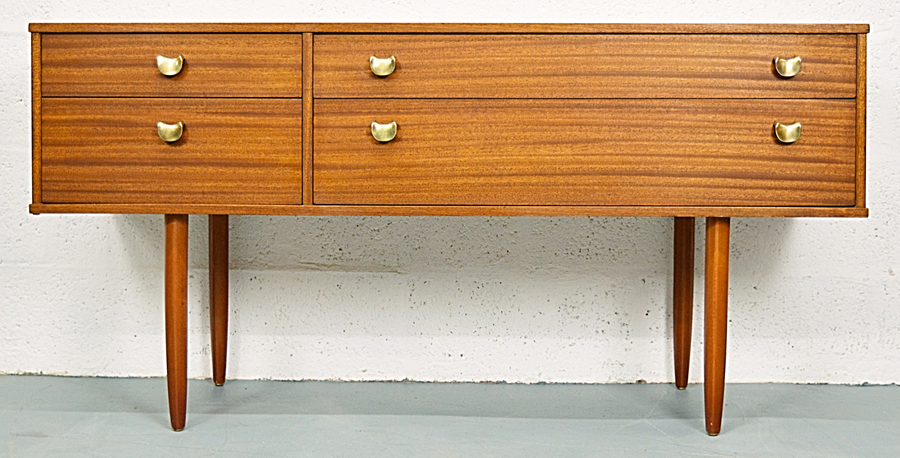 Mid Century Vintage Teak Chest Of Drawers By Avalon photo 1