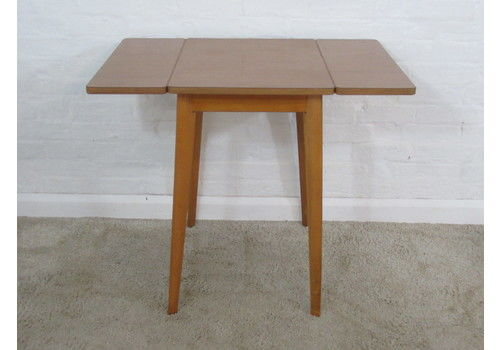 Retro 1950s 1960s Wood Effect Laminate Or Formica Small D