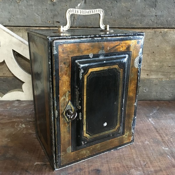 Jones Brothers Toleware Cash Box