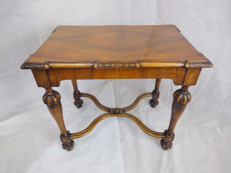Antique Edwardian Robert Adam Style Walnut Carved Console Table photo 1