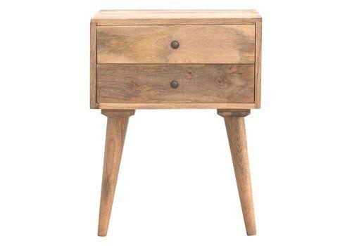 Nightstands 1900-1950 Pair Vintage Art Deco Painted Nightstands End Tables Mid Century Antique Wood Comfortable Feel