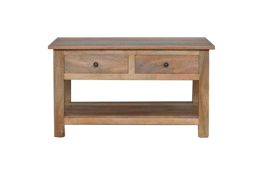 4 Drawer Coffee Table With Shelf photo 1