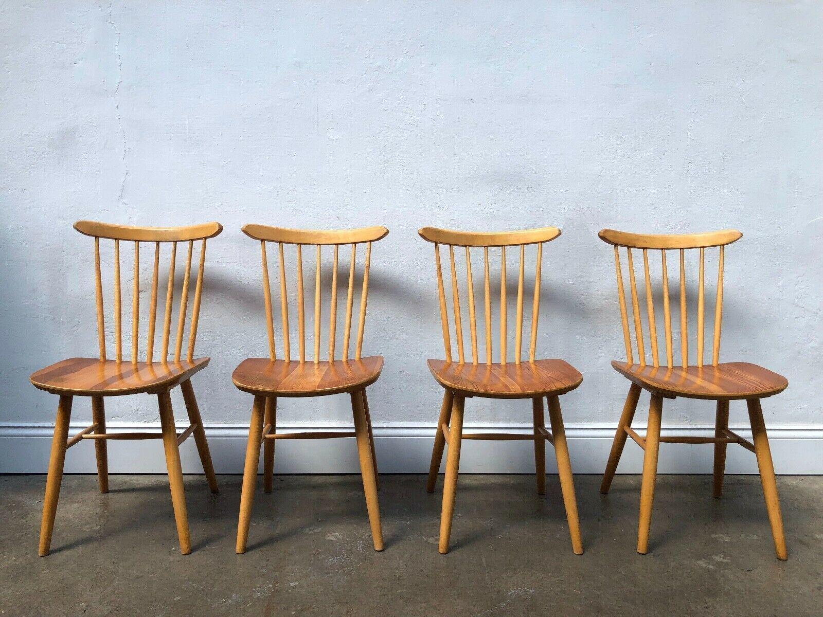 Picture of: Vintage Set Of 4 Farstrup Danish Dining Chairs G Plan Mid Century Retro Ercol Vinterior