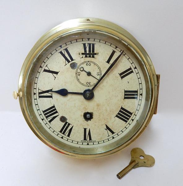 Vintage Smiths Bulkhead Clock photo 1