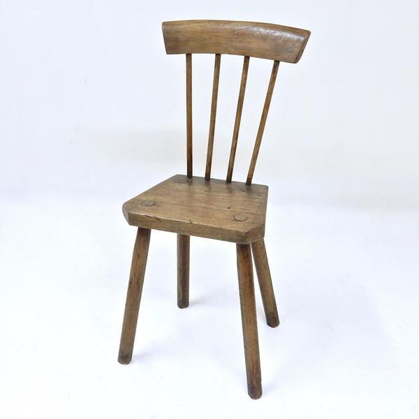 Antique Child's Chair 19th Century