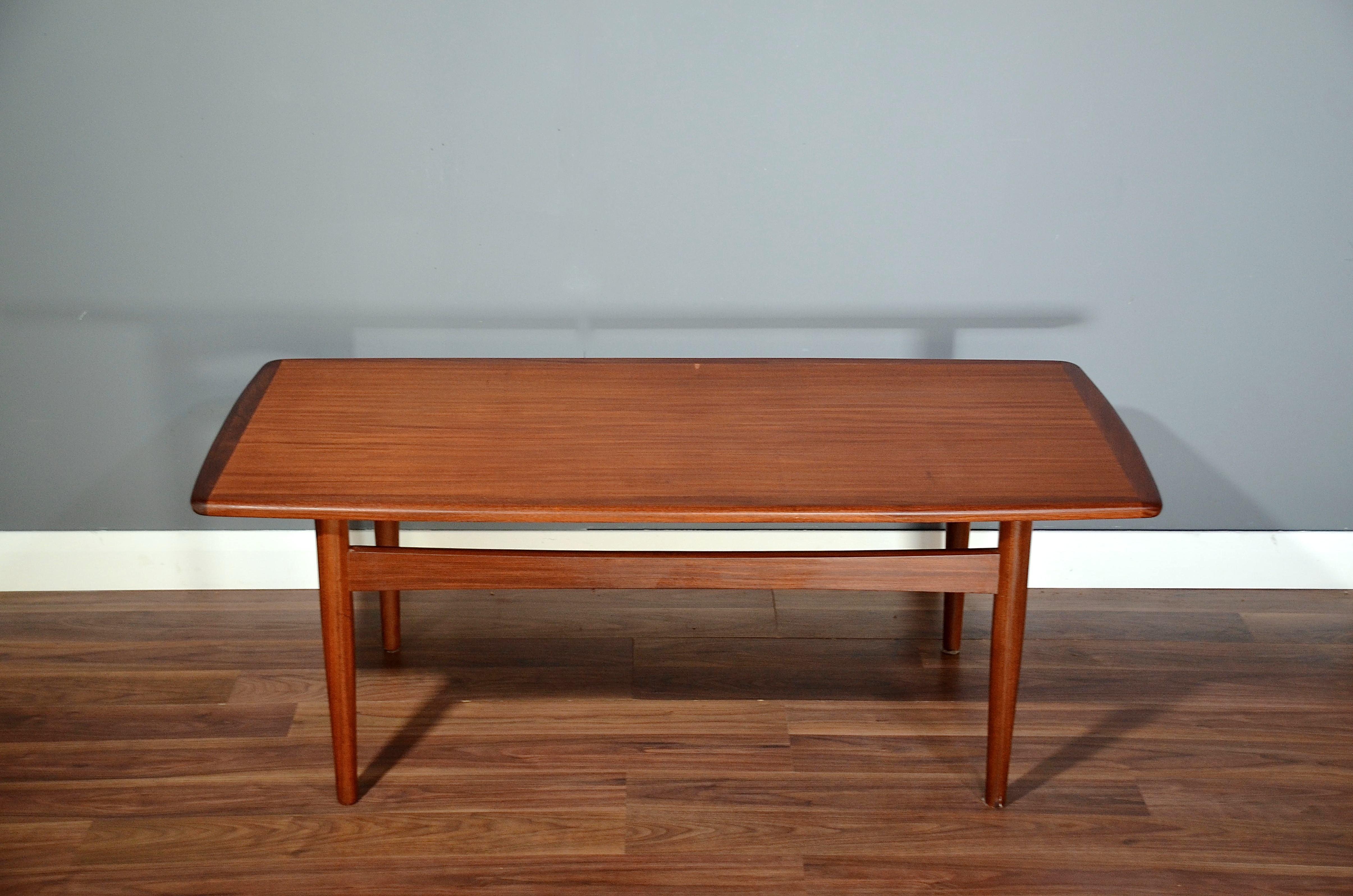 Vintage Teak Side Table.Vintage Danish Teak Coffee Table Delivery Modern Midcentury Retro