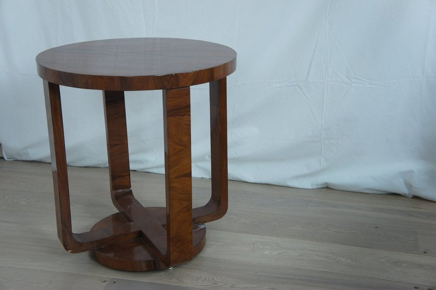 Art Deco Gueridon Side Table