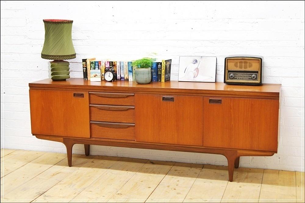 save off 7bbf0 0a266 Vintage Sideboard Teak Mid Century Greaves & Thomas Danish Design