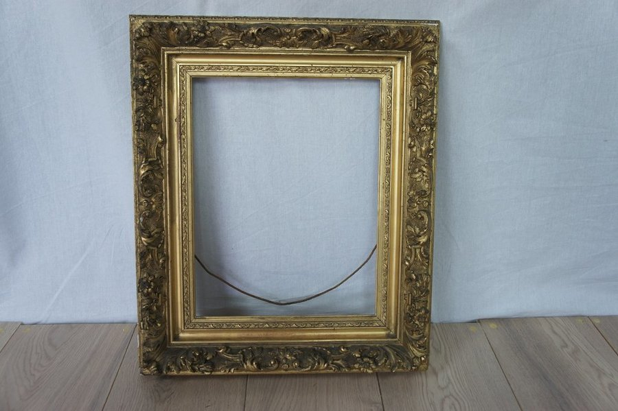 19th Century Rococo Style Picture Frame