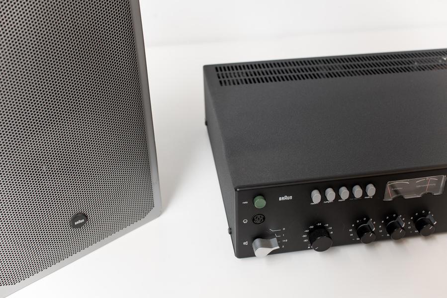 Braun Analogue Audio System, Dieter Rams, 1975