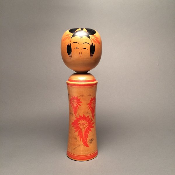 Traditional Vintage Japanese Kokeshi Doll