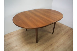 Thumb round vintage extendable dining table from mcintosh 0