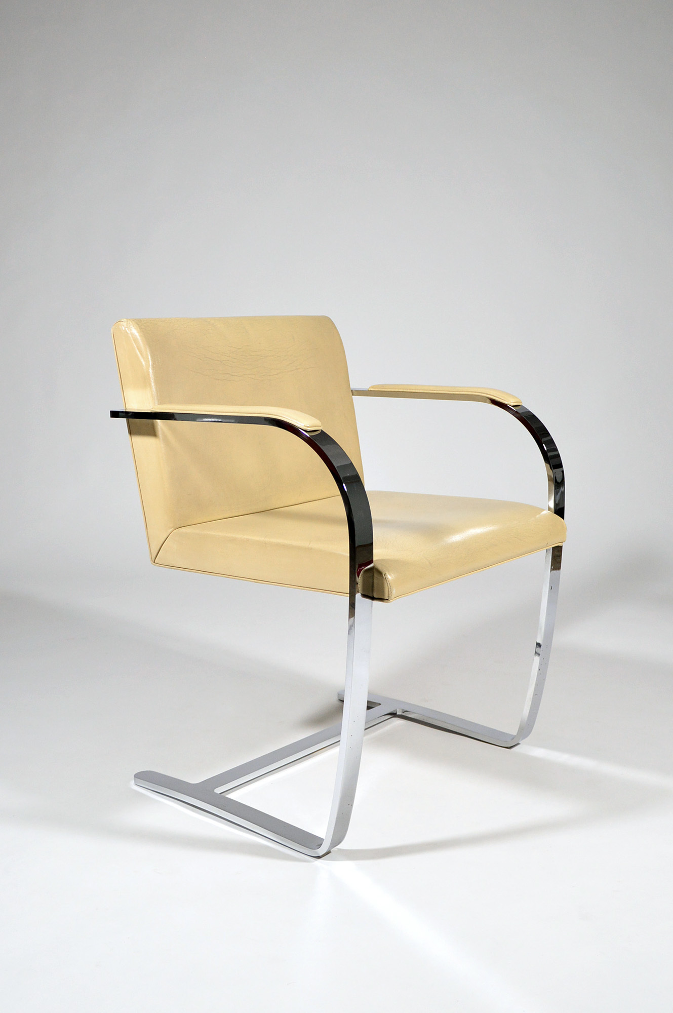Chaise Brno Mies Van Der Rohe brno flat bar chairludwig mies van der rohe for knoll, 1930, 4/6
