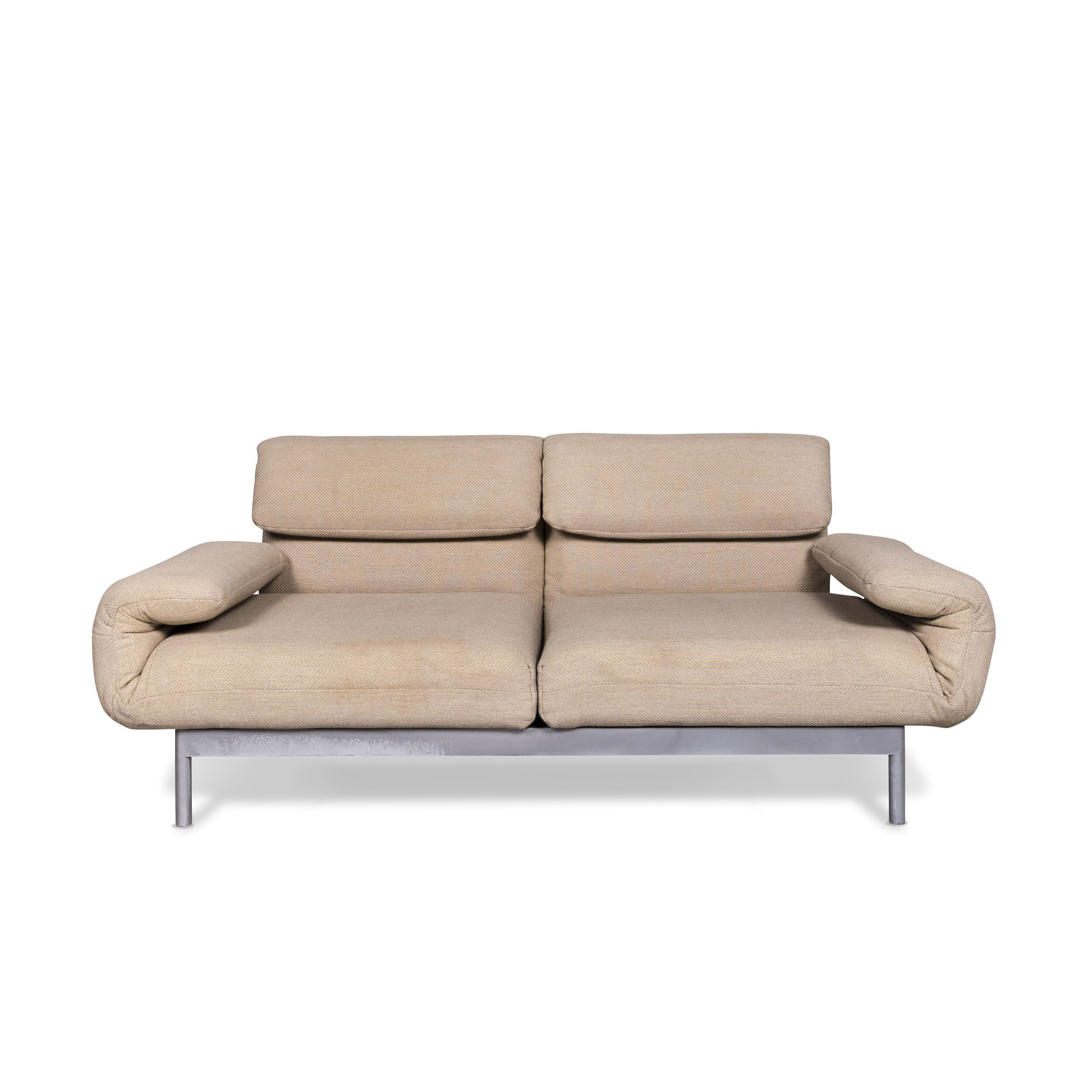 Wondrous Rolf Benz Plura Designer Fabric Sofa Beige Two Seater Relax Function Couch 9780 Home Interior And Landscaping Eliaenasavecom