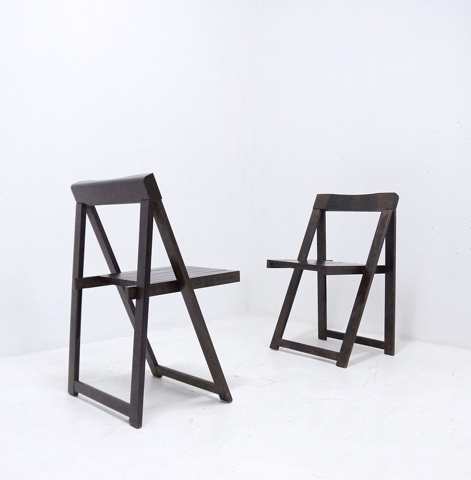 Peachy 1Of3 Vintage Folding Chairs By Aldo Jacober 1960S 1970S Mid Century Italian Modernist Chair Pdpeps Interior Chair Design Pdpepsorg