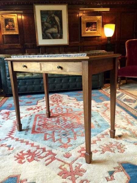 Bespoke Handmade Table Solid Walnut