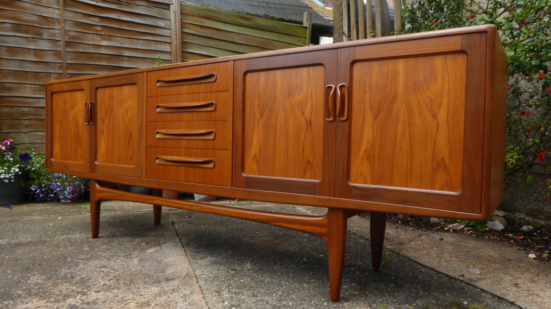 Vintage Retro Mid Century Large G Plan Sideboard Credenza