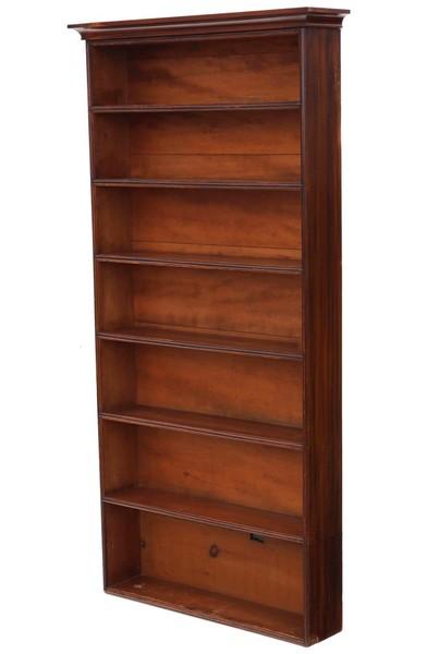 Victorian C1870 Tall Mahogany Bookcase