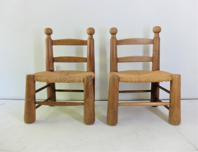 Small Modernist Chairs, 1950s, Set Of 2