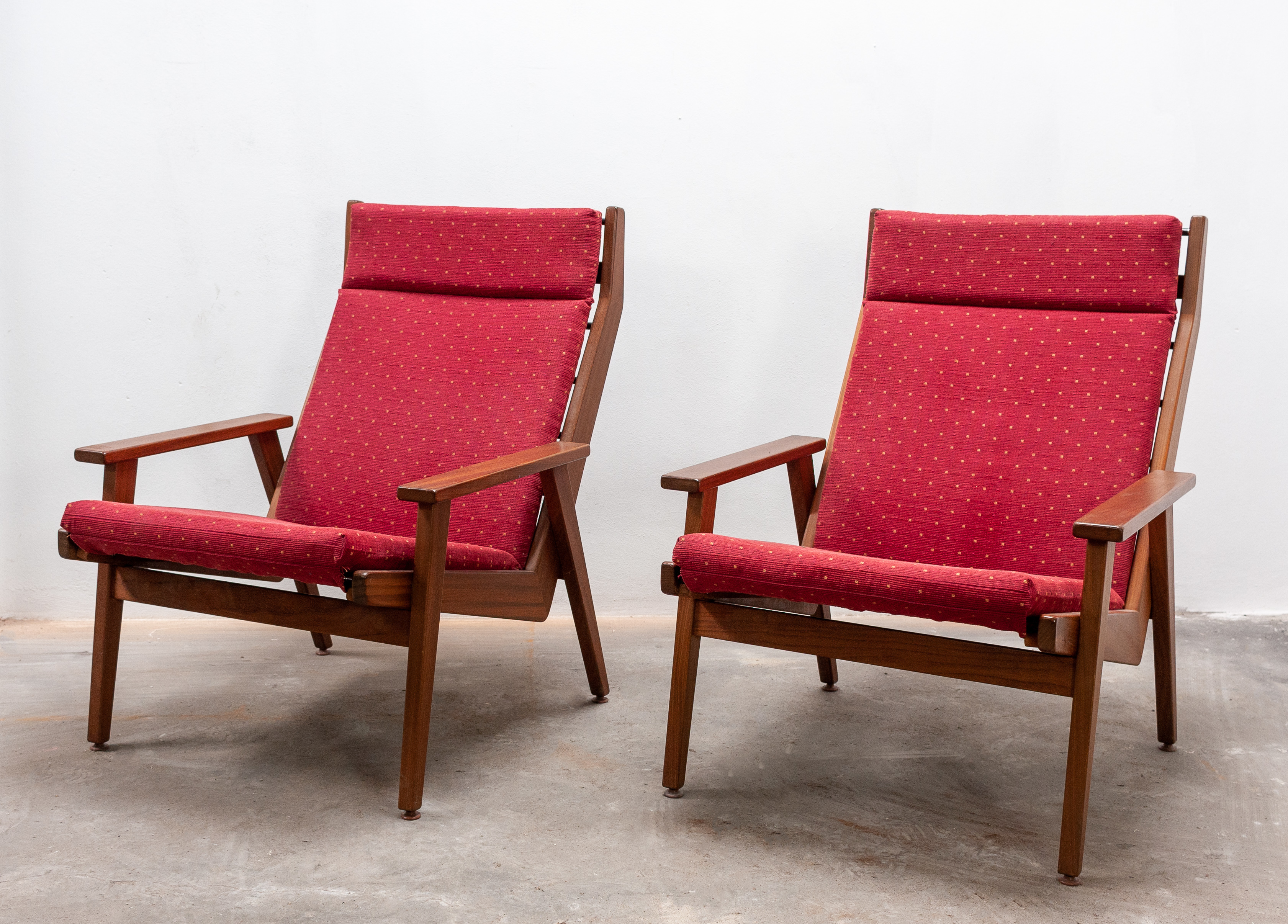 Pleasant Two Rob Parry Lotus Lounge Chairs 1950S Pdpeps Interior Chair Design Pdpepsorg