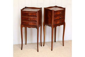 Thumb pair of french rosewood bedside cabinets france c 1920 0