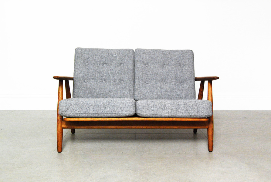 Hans Wegner For Getama Grey Ge 240 Cigar Sofa photo 1