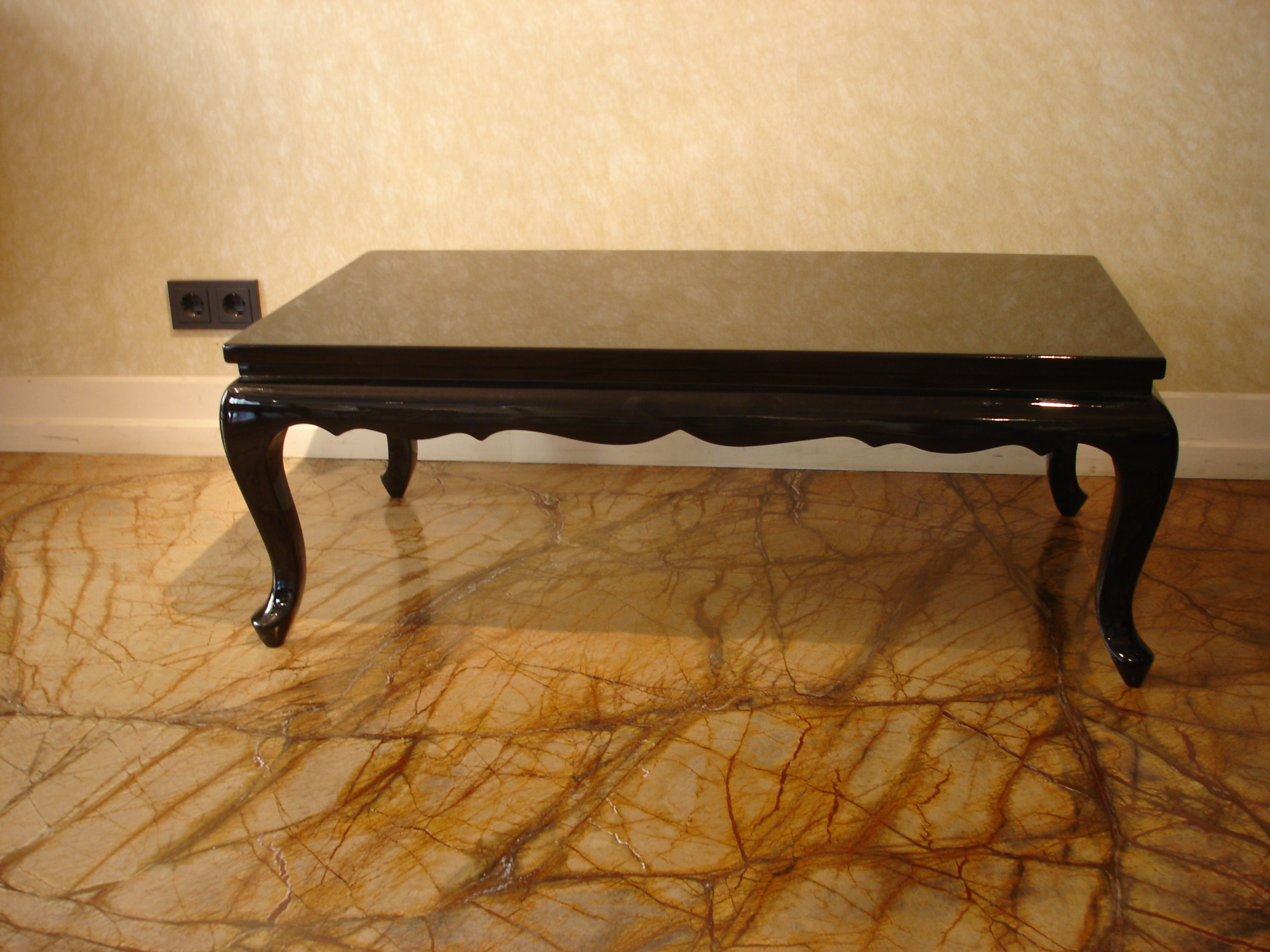 Art Deco Coffee Table In Chinese Style Vinterior