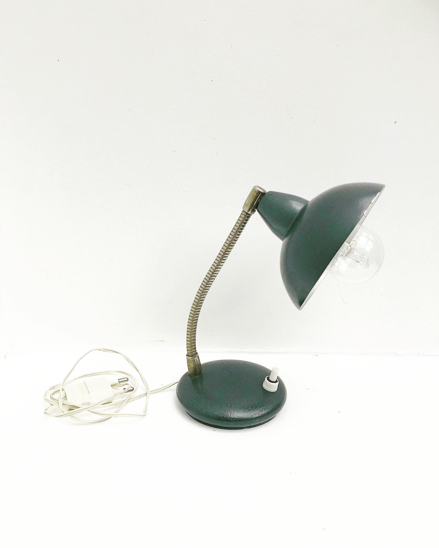 Image of: Table Lamp Industrial Mid Century Small Desk Lamp Goose Neckvintage 40s 50s Italy Adjustable Table Lamp Flexible Bauhaus Minimalist Gift Vinterior