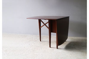 Thumb 1970 s german mid century extending dining table 0