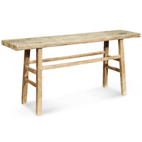 Rustic Plank Top Console