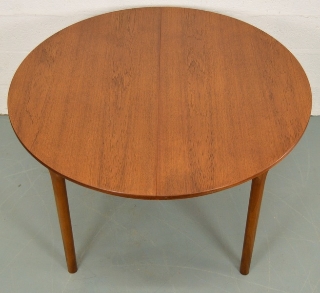 Mid Century Teak Dining Table By Mc Intosh