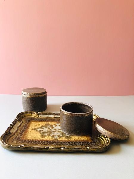Unique Handmade Ceramic Jar With Lid   Handmade Pottery