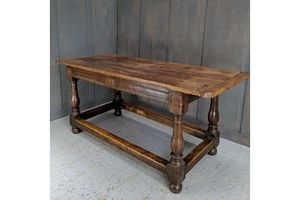 Thumb antique oak refectory table with 18th century elements 0