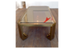 Vintage Brass Coffee Table 1970s photo 1750.0