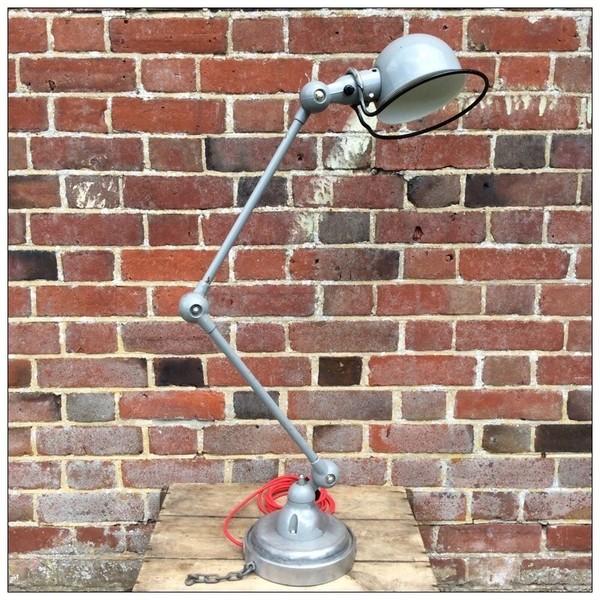 Jielde Grey 2 Arm Lamp