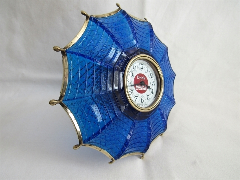 Vintage Coca Cola Umbrella Clock