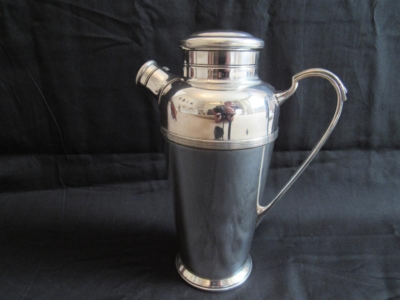 Vintage Cocktail Shaker 1936