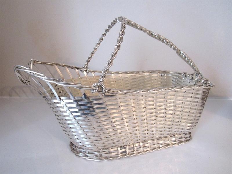 1960s Cristofle Wine Basket