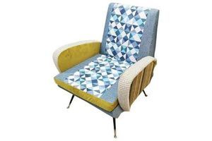Thumb mid century modern italian armchair in the style of marco zanuso 0
