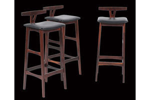 Thumb set of three erik buch rosewood bar stools 0
