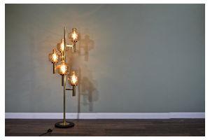 Thumb stunning vintage midcentury italian stilnovo brass and murano glass branch floor lamp delivery modern retro 1950s 0