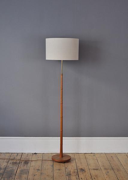 Teak Floor Lamp photo 1