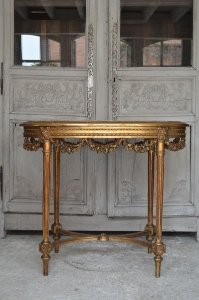 Gilded Louis Xv Occasional Table