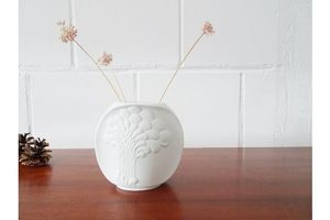 Thumb ak kaiser biscuit porcelain vase design m frey white vase with tree relief 0