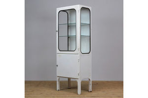 Thumb vintage steel and glass medical cabinet 1970s 1970s hungary 0